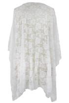 Kimono Renda Putih
