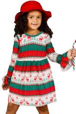 Grinch Stole joulua pikku tyttö mekko