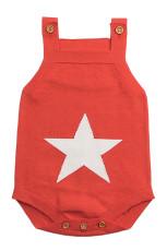 Orange Star Pola Rajutan Baju Monyet Bayi Baju Bayi