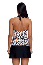 Halter Leopard Flyaway Tankini и Skirted Swimsuit