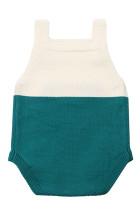 Mint Little Mouse Cotton Bodysuit Tanpa Lengan Baju Bayi