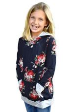 Μπλουζάκι Κορίτσι με Φλοράλ Φλοράλ