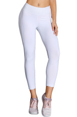 Witte high-rise mesh patchwork sport gym yoga legging