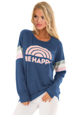 Mavi Be Happy Grafik Sweatshirt