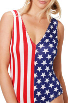 ชุดว่ายน้ำ Maillot The Stars and Stripes Beach