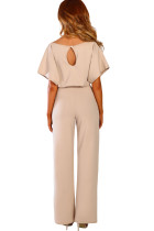 Aprikoosi Oh So Glam Belted Wide Leg Jumpsuit