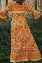 Orange Lady Love Maxi Dress