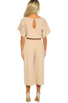 Caise Always Chic Belted Culotte Jumpsuit