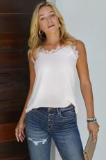 Λευκή Επένδυση Lace Cami Tank Top