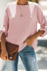 Roze Notitie Blouse