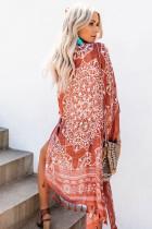 Brown Anja Tassel Kimono