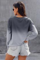 Grey Ombre Crewneck Sweatshirt dirêj