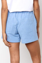 Sky Blue Faylin Shorts
