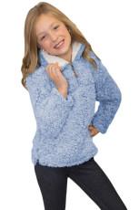 Μπλουζάκι Luxus Ασαφής Πουλόβερ Sherpa Κορίτσι Φούτερ