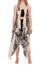 Fishnet Mandala Beach Vest