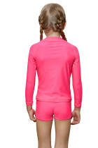 Rosy Long Sleeve Rash Guard for Little Girls