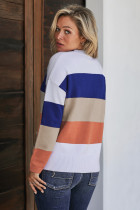 Blue Catch Feels Sweater Colorblock