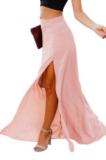 Pink Drop Dead Gorgeous Maxi Skirt