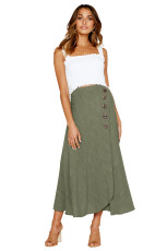 Πράσινη φούστα Maxi