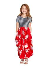 نسخه چاپی Little Girls Maxi Dress نسخه چاپی