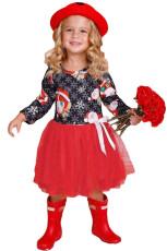 Musta Punainen Joulupukki Joulupukin mekko