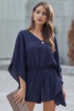 Blue Born To Fly Kimono Romper
