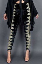 Velvet bukser i høj talje