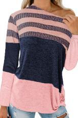 Blind Rengîn Blind Striped Knit Top