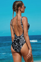 Apertura posteriore Dot Pattern Maillot