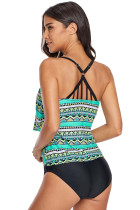 Ruffle Layered Beach Holiday Tankini Top