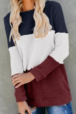 Punainen Miller Colorblock Cozy Thermal Top