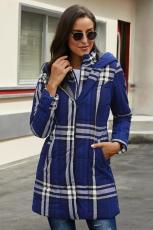 Μοντέρνο παλτό βαμβακερό βαμβακερό καπέλο