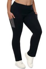 High Waist Tummy Control Workout Bootleg Yoga Bukser