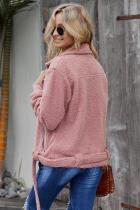 Ροζ Niagara Falls Τσέπες Sherpa Jacket