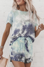 Set de salon Mint Tie Dye
