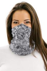 Vintage floral multifunksjonelt hodeplagg ansiktsmaske Hodebånd Neck Gaiter