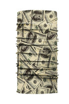 Dollar-trykk Vindtett skjold Bandanas Unisex Neck Gaiter