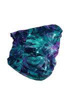 Galaxy & Leaf Seamless Face Bandana Neck Gaiter