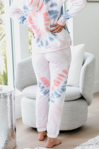 Utopia Cotton Blend Tie Dye Hoodie Loungewear Joggers