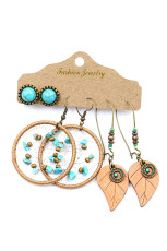 3 stuks Bohemian Circle Hook Earring Sets