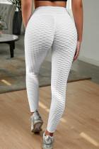 Hvide perfektformede leggings