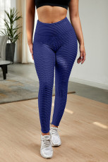 Blå perfektformede leggings