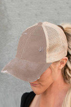 Casquette Kaki Multi Level Crisscross Pony