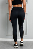Svarta Moto Pocketed Leggings