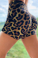 Leopard In Booty Yoga Quần short