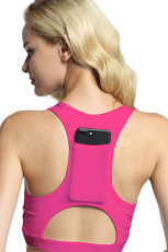 Pink Back Pocket Sport BH