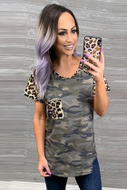 Leopard Pocket Camo T-Shirt