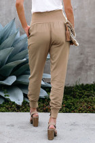 Khaki Pocketed Joggers