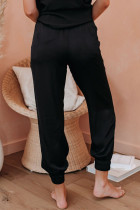 Black Pocketed Joggers