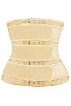 Nude 5 Steel Bones Latex Belt Waist Trainer with Hook